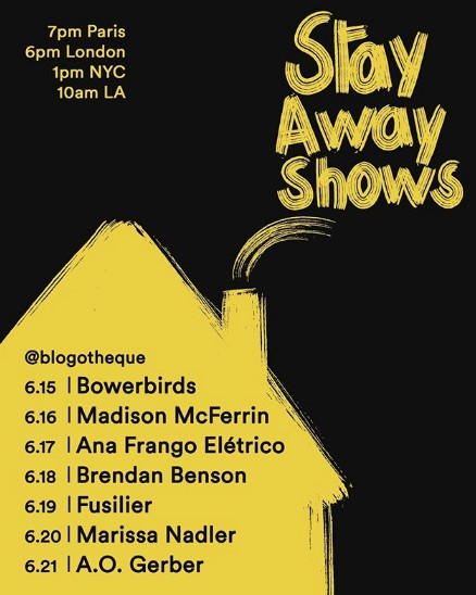 Stay Away Shows